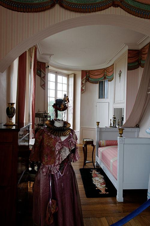 Château de Valençay Chambre de Madame de Staël 1