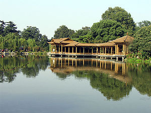 China Hangzhou Westlake, buildings