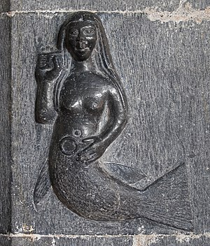Clonfert Cathedral Mermaid 2009 09 17