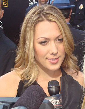 English: Colbie Caillat at the 2009 American M...