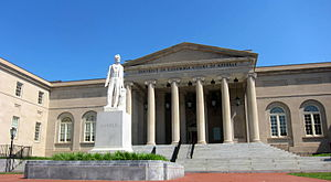 The District of Columbia Court of Appeals, his...