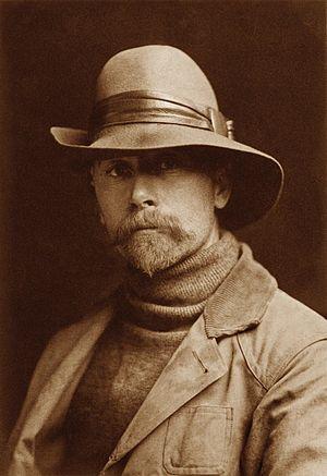 English: Self-Portrait of Edward S. Curtis 186...