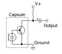 electret mic bias