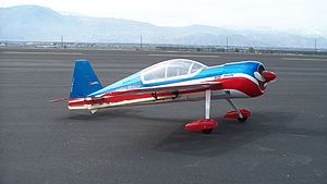 Electrifly Yak-54 EP 3D radio controlled model...