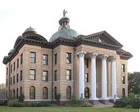 The Fort Bend County Courthouse located at 29....