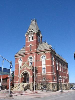 Fredericton, New Brunswick City hall