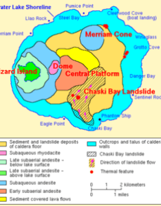 Geologic map of the lake floor also crater wikipedia rh enpedia