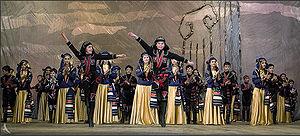 Georgian folk dance
