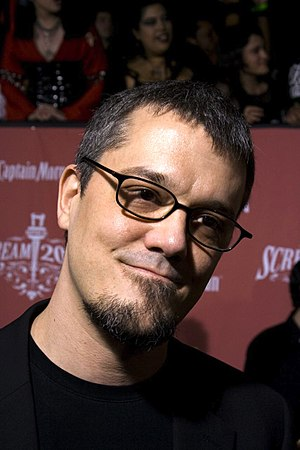 American comic book author and screenwriter St...