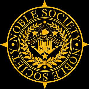 English: Noble Society brand logo