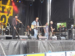 Canadian country music band Prairie Oyster in ...