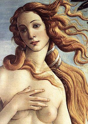 Sandro Botticelli - The Birth of Venus (detail...