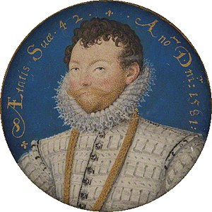 Francis Drake entered in the city after the fa...