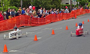 The Walden, New York soapbox derby.