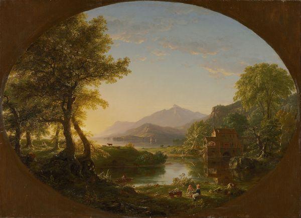 Artist Thomas Cole Paintings