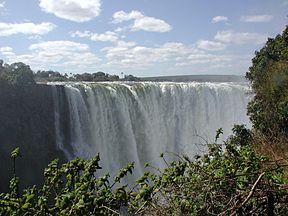 Викторијини водопади, део