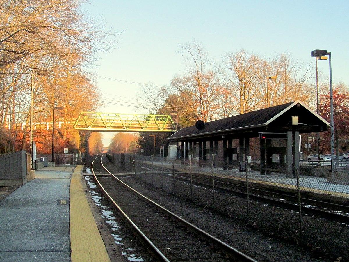 Mbta Commuter Station Rail South