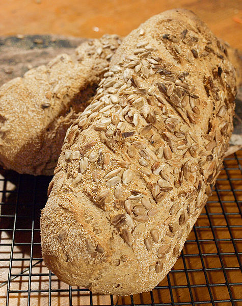 File:Wholemeal bread with seeds, August 2011.jpg