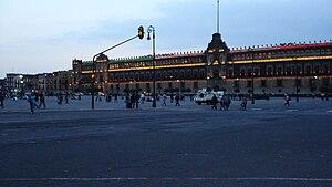 Español: Zocalo Capitalino (México)