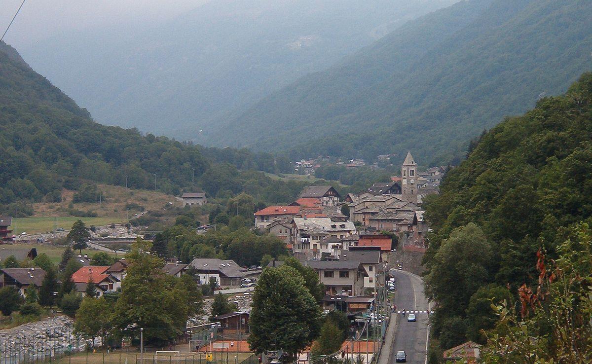 Map Piedmont Region