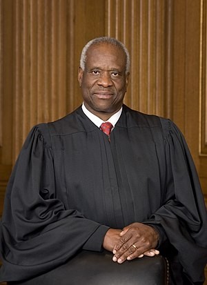 English: Clarence Thomas, Associate Justice of...