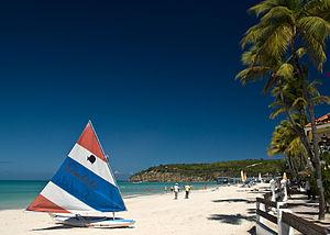Dickenson Bay Beach in Antigua