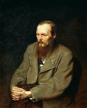 Portrait Of Dostoevsky.