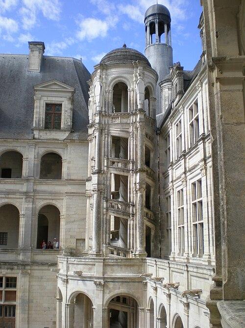 Escalier Chambord 2