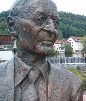 Hermann-Hesse-Monument in Calw