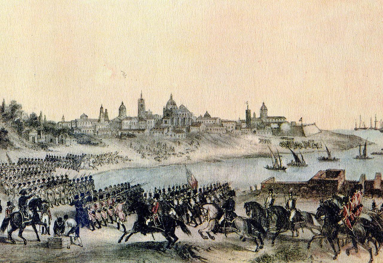 FichierMuseo del Bicentenario  Ataque por los ingleses a Buenos Airesjpg  Wikipdia
