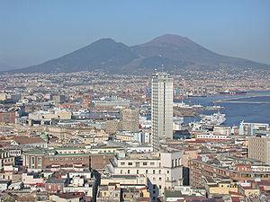 Italia, regione Campania, Napoli, panorama del...