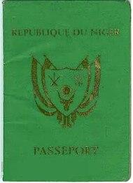 Nigerien Passport Wikipedia