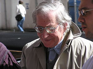 Noam Chomsky in 2004