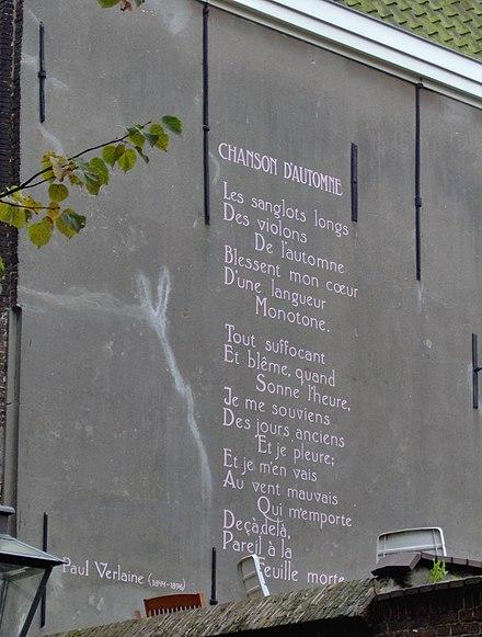 Blesse Mon Coeur D Une Langueur Monotone : blesse, coeur, langueur, monotone, Chanson, D'automne, Wikiwand