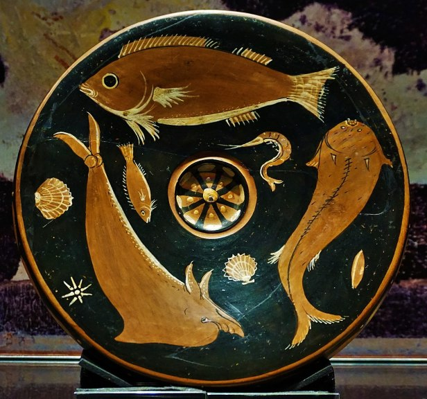 RD Milns Antiquities Museum - Joy of Museums - Fish Plate