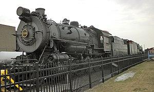 PRR steam locomotive No. 7688 at the Railroad ...