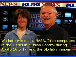 English: Astronaut/Scientist Sally Ride With P...