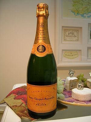 Veuve Clicquot bottle - Champagne - France