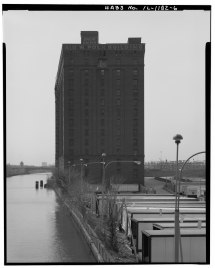 File View South. North Side. - Marshall Field River