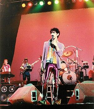 Zappa and band. Memorial Auditorium, Buffalo, ...