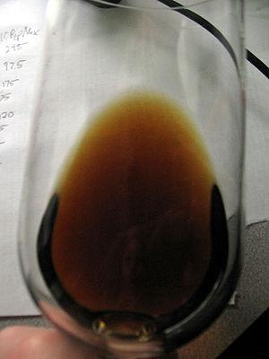 Aged white wine. Blandy's Malmsey Madeira