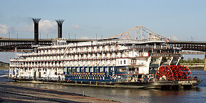 The American Queen, a recreation of a classic ...