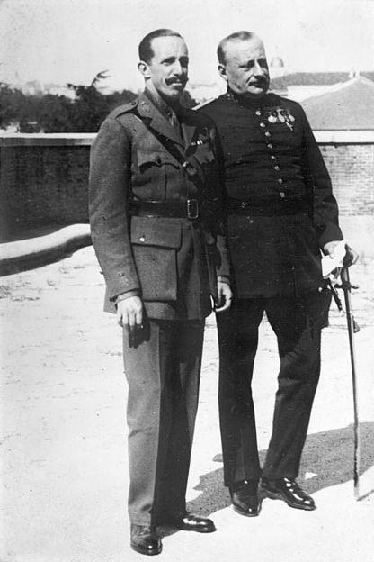 Alfons XIII i Miguel Primo de Rivera