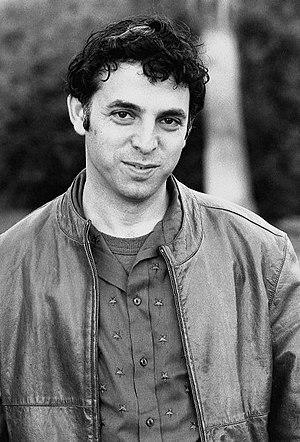 Photographic portrait of Israeli author, Etgar...