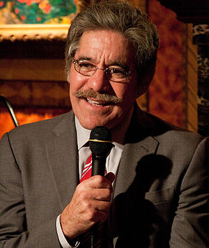 Geraldo Rivera at a Hudson Union Society event...