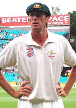 Glenn McGrath. Sydney Cricket Ground, Australi...