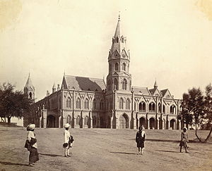 Government College, Lahore, 1880s. Oriental an...