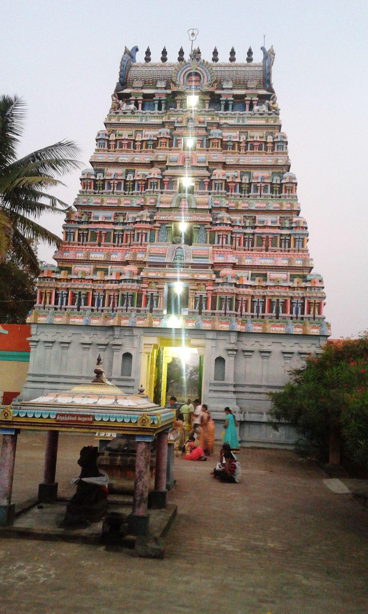 Innambur Ezhutharinathar Temple Wikipedia