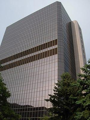 English: Mayo Clinic Guggenheim Building in Ro...