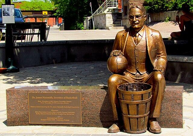 FileNaismith Statue Almontejpg Wikimedia Commons